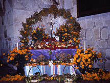 Day of the Dead altar, Oaxaca